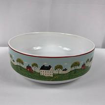 Warren Kimble Brandon House Country Life Vegetable Bowl Sakura Cottagecore - $24.74