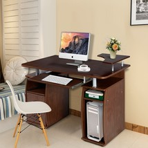 Office Computer Desk With Monitor and Printer Shelf - $218.44