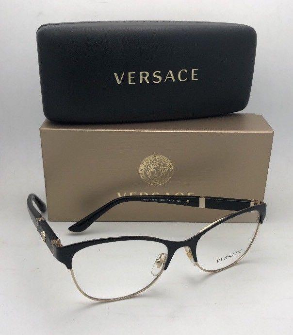 b7d1e0de87b3 New VERSACE Eyeglasses MOD.1233-Q 1366 53-17 and 50 similar items
