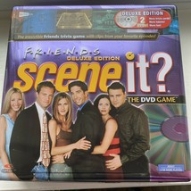 Friends Scene It Deluxe Edition Dvd Trivia Game Tin 2005 Complete - All Pieces - $29.91