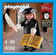 Playmobil 16th century Protestant reformer Martin Luther - Rare - $50.95