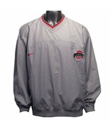Ohio State Buckeyes Nike NCAA Vintage Team Issue XL V-Neck Pullover W/ P... - $24.99