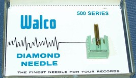 W-523STD STEREO RECORD PLAYER NEEDLE for JVC DT-32 SHARP STY-701  637-D7 image 1