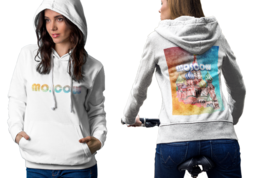 Moscow Womens White Classic Hoodie - $30.99+
