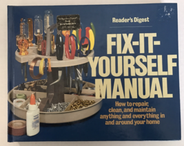 Fix It Yourself Manual Readers Digest 1977 Harcover - $12.99