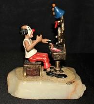 Ron Lee 1984 JoJo Clown Sitting in Front of Mirror Sculpture Figurine No... - $95.00