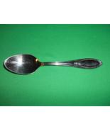 """7 5/8"""", Stainless, Soup Spoon, Hampton Silversmiths, HSV-100 Pattern - $2.99"""