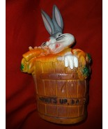 Bugs Bunny vinyl bank WHAT'S UP, DOC? - $8.00