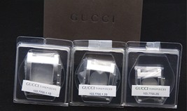 NIB Gucci Replacement Case Set -7700 Watch - Stainless - Ladies and Chrono - $99.95+