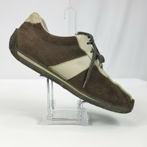 Clarks Shoes Sneakers Driving Heel Brown Casual Comfort Mens Size 11 M - $47.39