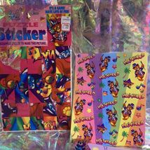 Lisa Frank PANDA PAINTER HOLLYWOOD BEAR lot Stickers Stationery Notecard Etc Mor image 4