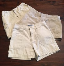 Girls Woman's Shorts Khaki Tan Christie Brooks 14 D Mode 16 American Eag... - $14.03