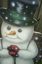 Bethany Lowe Large Traveling Snowman Dummy Borard image 2