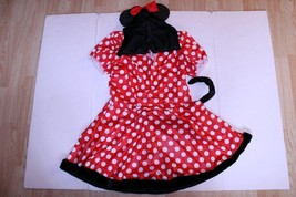 Women's Minnie Mouse L (12/14) Outfit Costume - $28.04
