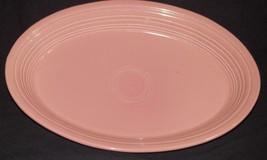 "Fiestaware 13 1/2"" Oval Platter Pink - $18.99"