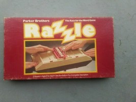 RAZZLE 1981 Board Game Parker Brothers 100% Complete  - $6.80