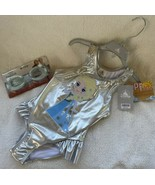 Disney Frozen Anna Swimsuit Bathing Suit Girls Sz 4 OR 5/6 + Goggles Rhi... - $34.99
