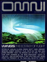 OMNI mag v1 #3, Dec. 1978 - Orson Scott Card, Harlan Ellison, Robert She... - $10.00