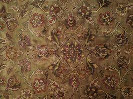 Densely Knotted Genuine Handmade 9 x 13 Brown Jaipur Wool Rug image 6