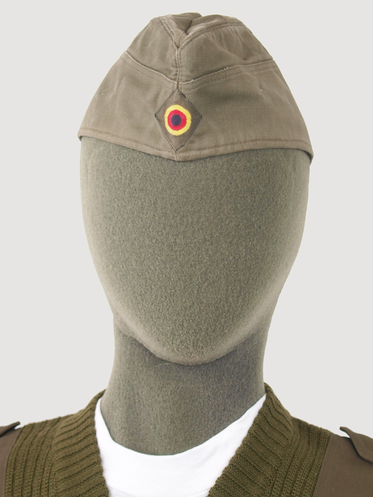 12d1ce58713 Vintage German army side cap garrison forage and 23 similar items