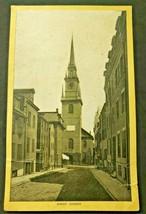 Antique Singer Sewing Co. Trade Card  'Boston -Christ Church' ( B-1) - $14.99