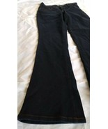 Style & Co Women's Mid Rise Tummy Control Dark Blue Boot Leg Jeans Size 2S - $25.25