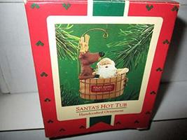 Hallmark Keepsake Ornament Santa's Hot Tube QX4263 - $15.00