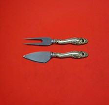 Decor by Gorham Sterling Silver Hard Cheese Serving Set 2-Piece Custom Made - $109.00