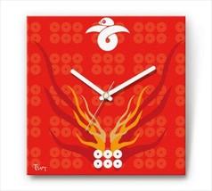 Sengoku Design Fabric Wall clock Interior Yukimura Sanada - $99.99