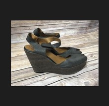 Nine West Vintage American Collection Leather Wedges - $16.83