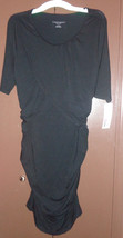 Liz Lange Maternity Womens Body Con Dress Black NWT Size-XS or Large - $12.99