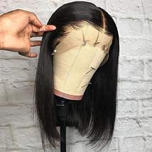 Glueless Short Bob Wigs Brazilian Virgin Hair Straight Bob Wigs Lace Front Human image 4
