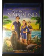 Return To Nim's Island Blu-ray Disc, 2013 New Sealed - $1.95
