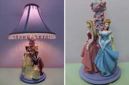 Disney Princess Room Light Night Lamp Snow White Cinderella Belle Prince... - $341.55