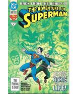 The Adventures of Superman Comic Book #500 Regular DC 1993 VFN/NEAR MINT... - $3.99