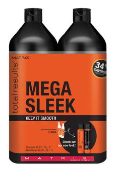 Primary image for Matrix Total Results Mega Sleek Shampoo, Conditioner Liter Duo