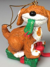 Sesame street christmas ornament dog Barkley Jim Henson tree decoration - $18.16
