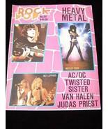 Rock Pop #94 Quiet Riot Motley Crue Def Leppard ACDC Twisted Sister Van ... - $14.99