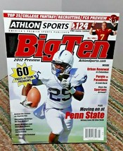 Athlon 2012 College Football Big Ten Magazine Silas Redd Penn State - $11.30