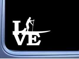 Paddleboard Love Man M135 6 Inch Sticker Decal camping kayak oar paddle board - $4.99