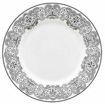 "Waterford Lismore Lace Platinum Salad Dessert Plate 8"" Bone China New - $44.90"