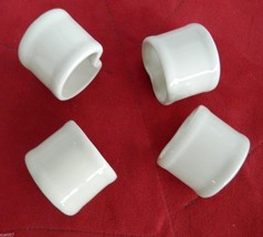 Vintage Set of 4 Vera Neumann Natural Off White... - $29.99