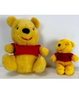 "Sears Disney Vintage Winnie Pooh Gund Lot 11"" & 7"" Plush Stuffed Animal - $29.69"