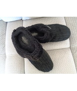 Skechers Womens Slippers Keepsakes 46346 Black Cable Knit Size 9 - $16.99