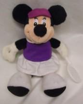"Walt Disney MINNIE MOUSE AS TENNIS PLAYER 9"" Pl... - $16.34"