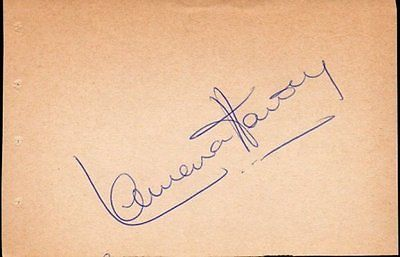 LAURENCE HARVEY Autograph signed on album page-*Manchurian Candidate & The Alamo