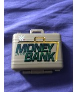 WWE Money In The Bank Gold Briefcase Accessory / Prop Mattel 2010 WWF WC... - $10.43