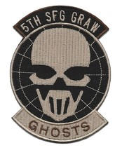 US Army 5th Special Forces Group military patch - GRAW - GHOST - $11.87