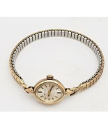 VINTAGE 23 JEWELS/BULOVA N3 LADIES WATCH 10K ROLLED GOLD PLATE - $64.35