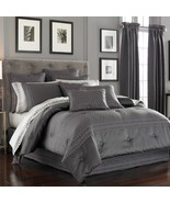 New J.Queen New York Bohemia 5 Piece Queen Comforter Set Charcoal - $370.25